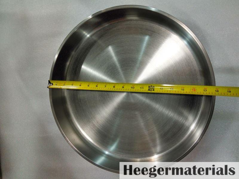 18 inch diameter tungsten crucible